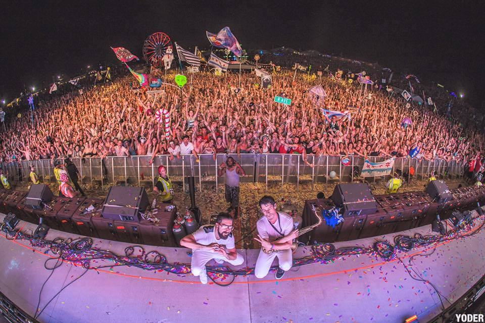 Big Gigantic - photo courtesy of Summer Set Music Festival