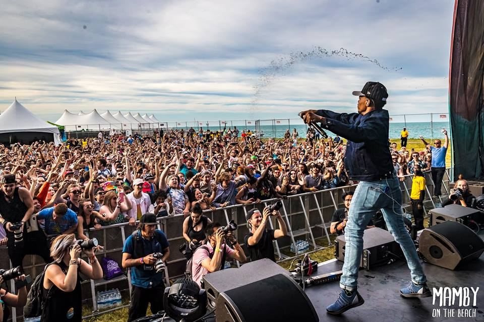 Chance the Rapper as a surprise guest for Lido. Photo courtesy of Mamby On The Beach