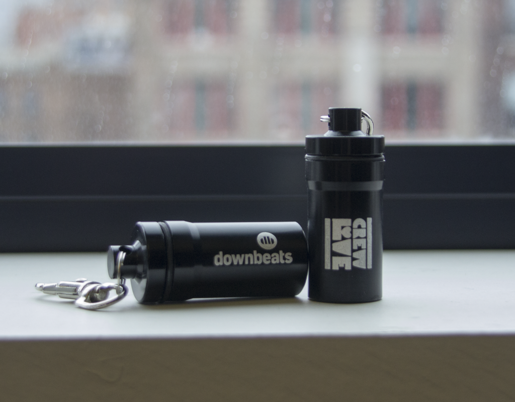 Our co-branded Crew Love DownBeats ear plugs