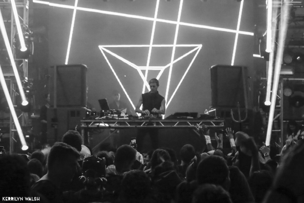 Richie Hawtin closing out the Underground stage. Pic by Kerrilyn Walsh