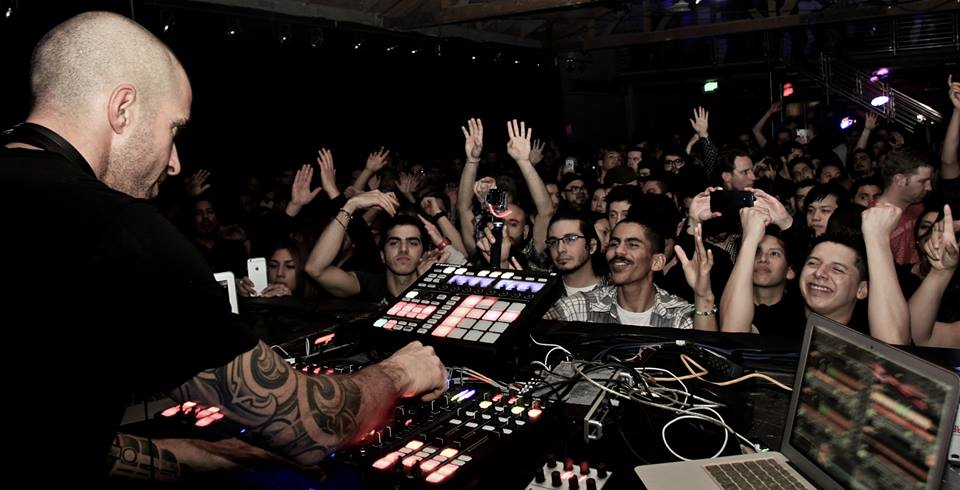 Chris Liebing playing Prototype 025 at Lot 613. Source: Prototype