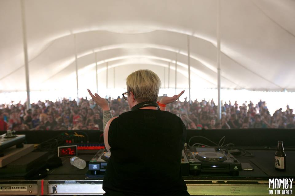 The Black Madonna. Photo courtesy of Mamby On The Beach