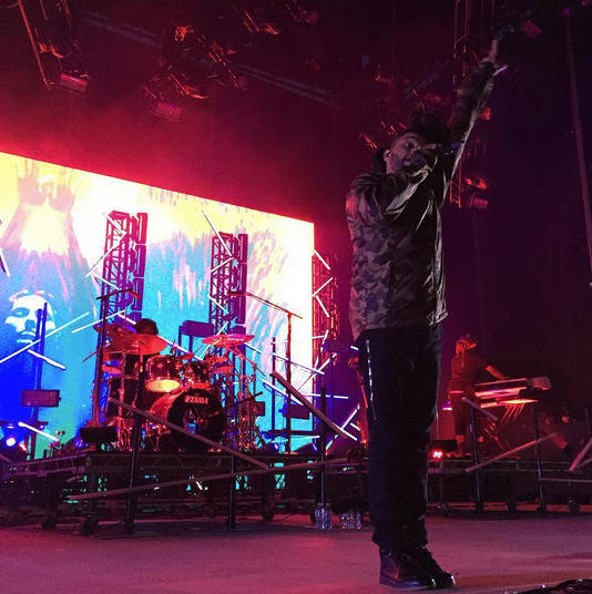 The Weeknd - photo courtesy of Summer Set Music Festival